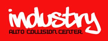 Industry Auto Collision Logo
